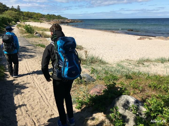 sandkås strand badestrand Bornholm