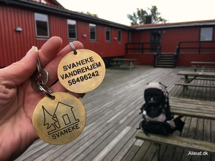 Svaneke vandrehjem Bornholm Danmark overnatning familievenlig