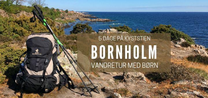 Bornholm vandretur Vandring Børn Barn Kyststien