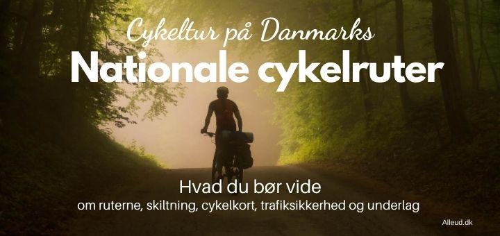Nationale cykelruter Danmark