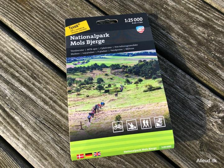 Vandrekort Danmark Calazo friluftskort outdoorkort vandring outdoor outdoorkort