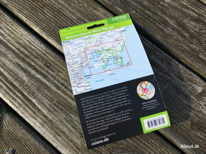 Vandrekort Danmark Calazo Kortoversigt friluftskort outdoorkort vandring outdoor
