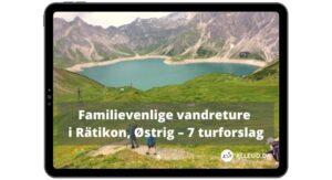 E-bog Alleud.dk Hytte til hytte vandring Østrig Rätikon Turforslag