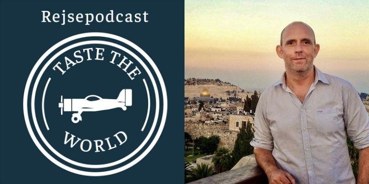 Rejsepodcast taste the world podcast cykelferie cykeltur